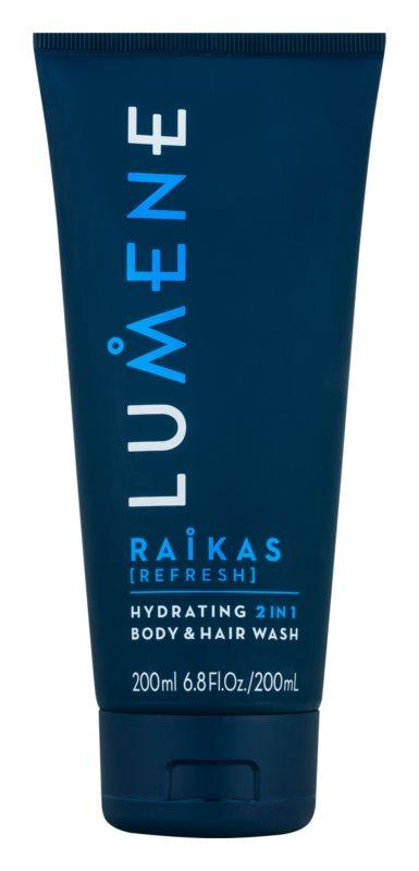 Lumene Men Raikas [Refresh] зволожуючий шампунь та гель 2 в 1